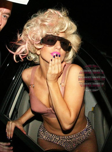 EXCLUSIVE: Lady Gaga Leaving Her Concert In Hamburg (USA AND OZ