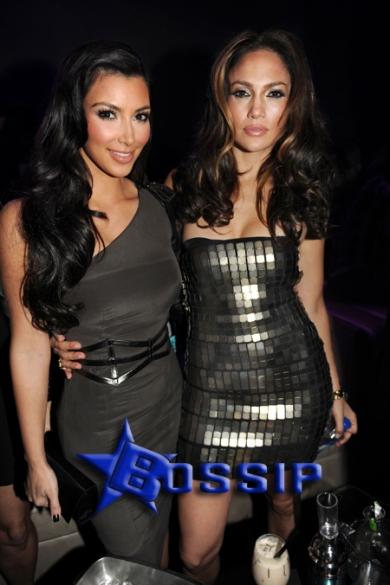 Kim Kardashian, Jennifer Lopez